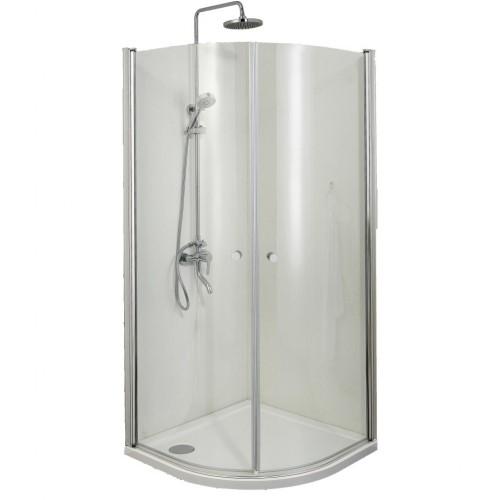 Pusapvalė dušo kabina Sanotechnik Elegance