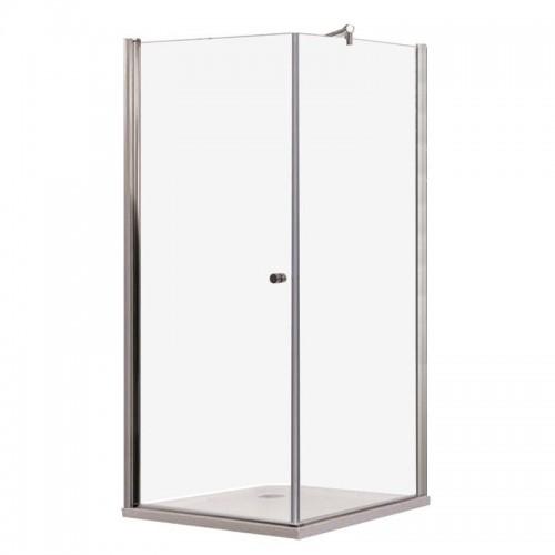 Dušo kabina Sanotechnik Elegance galimi matmenys 800x800 mm 900x900 mm