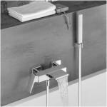 Vonios maišytuvas su kaskada ir dušo komplektu  Alpi Una18