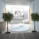 PAA akrilinė vonia Rondo 1900x1900 mm-voniosguru.lt