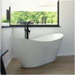 Akmens masės vonia Besco Viya 160x70cm