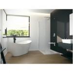 Maišytuvas voniai montuojamas į grindis Besco Decco juodas