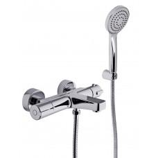 Termostatinis maišytuvas voniai su dušo galvute Fimatherm