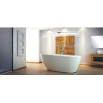 Akmens masės vonia  Besco Goya 160x70cm