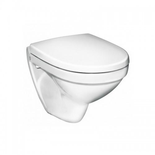 Gustavsberg pakabinamas WC Nautic 5530 su lėtaeigiu dangčiu-voniosguru.lt