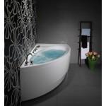 Akrilinė asimetrinė vonia IDEA 150/160/170-voniosguru.lt
