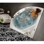 Akrilinė vonia LINEA 140/150-voniosguru.lt