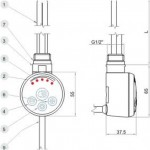 Kaitinimo elementas MEG 1.0-voniosguru.lt