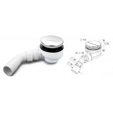Sifonas dušo padėklui TURBOFLOW D 90mm (54 l/min)