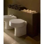 Pristatomas klozetas Kerasan Cento su lėtai užsidarančiu dangčiu-voniosguru.lt