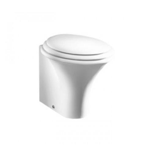 Pristatomas klozetas Hatria Sculture su lėtai užsidarančiu dangčiu-voniosguru.lt