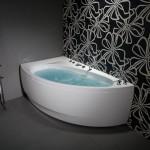 Akrilinė vonia RHEA 150/160/170-voniosguru.lt