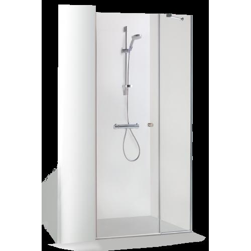 Baltijos brasta nišinės dušo durys RITA, galimas profilių spalvų pasirinkimas-voniosguru.lt