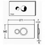 Viega Visign For Style 10 vandens nuleidimo mygtukas-voniosguru.lt